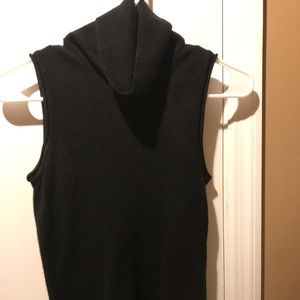 BCBG black sleeveless top